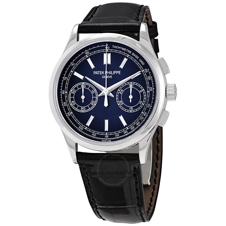 51ce4acee86 Patek Philippe Complications Chronograph Blue Dial Men's Watch 5170P-001 ...