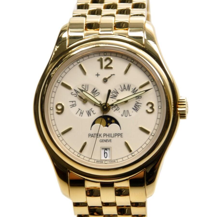 ac04b30d4e1 Patek Philippe Complications Mechanical Ivory Dial Men's Watch 5146/1J-001
