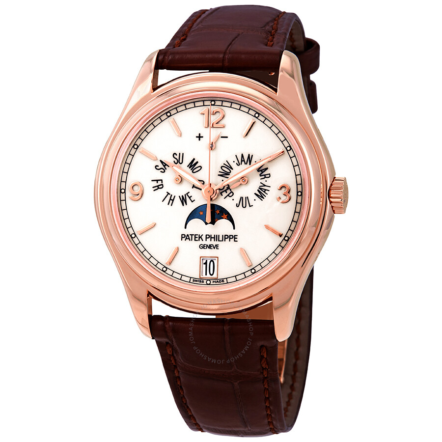 fbe8887494d Patek Philippe Complications Moonphase Automatic 18 kt Rose Gold Men's Watch  5146R Item No. 5146R-001