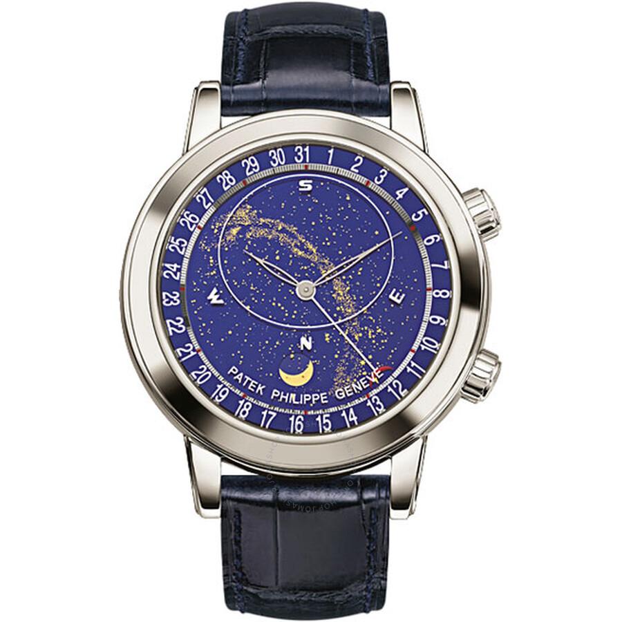 2caf2b6b69a Patek Philippe Grand Complications Platinum Men s Watch 6102P-001 ...