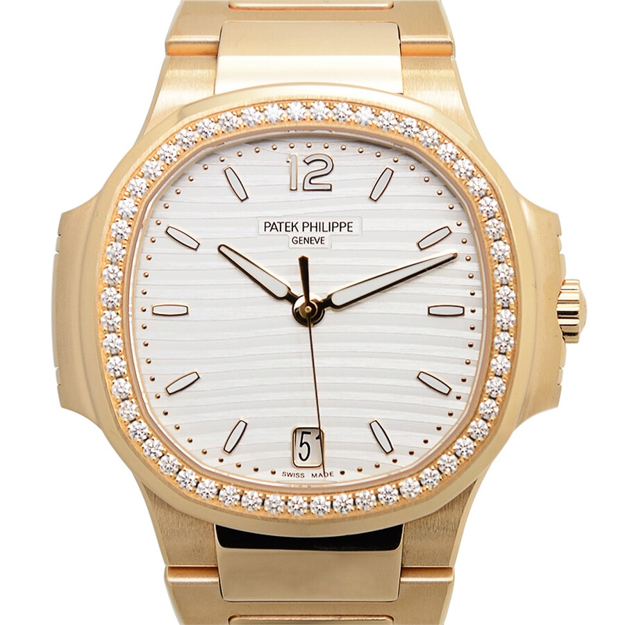 514987bdf52 Patek Philippe Nautilus Automatic Diamond Ladies Watch Item No.  7118/1200R-001
