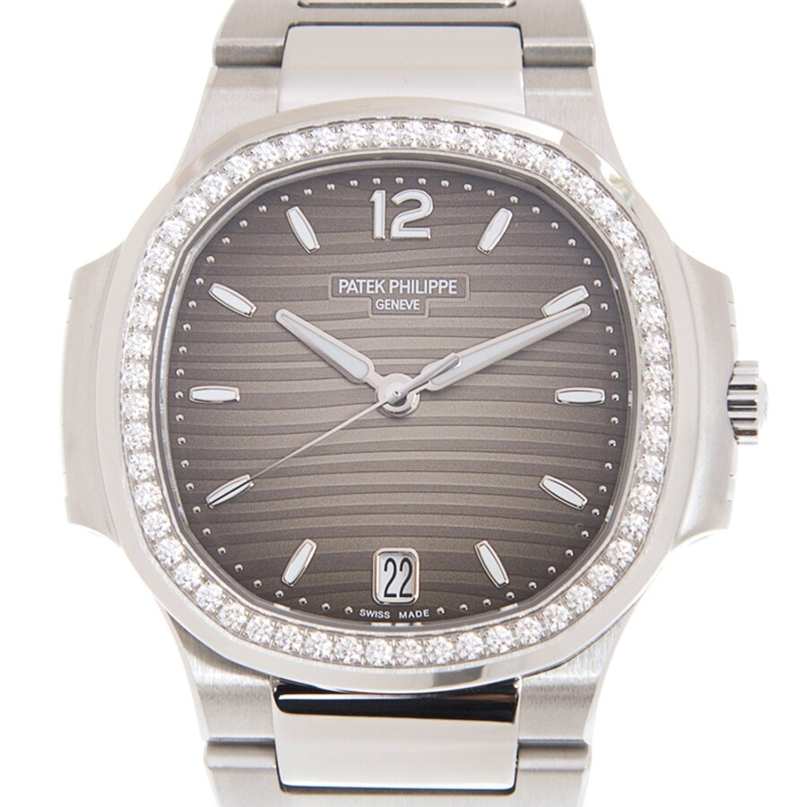 Patek Philippe Nautilus Automatic Grey Dial Ladies Watch 7118 1200a