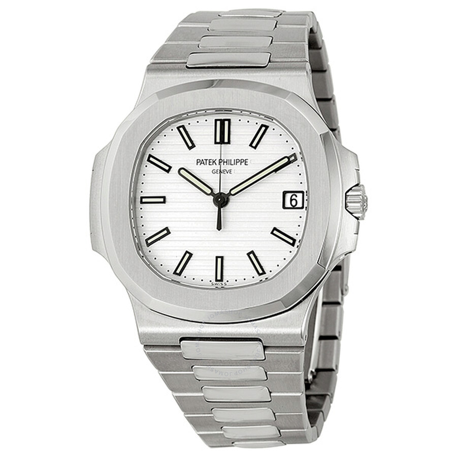 7e157c8e90d Patek Philippe Nautilus Silvery White Dial Stainless Steel Men s Watch  5711-1A-011 Item No. 5711 1A-011