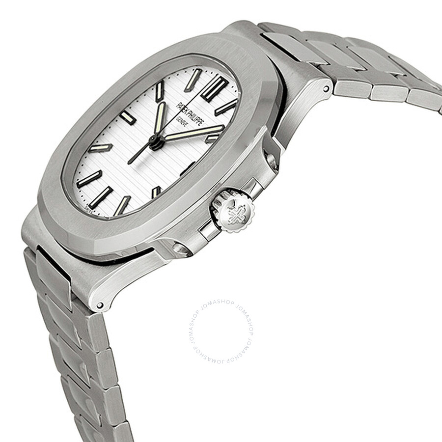 d5f701a1d2f ... Patek Philippe Nautilus Silvery White Dial Stainless Steel Men's Watch  5711-1A-011 ...