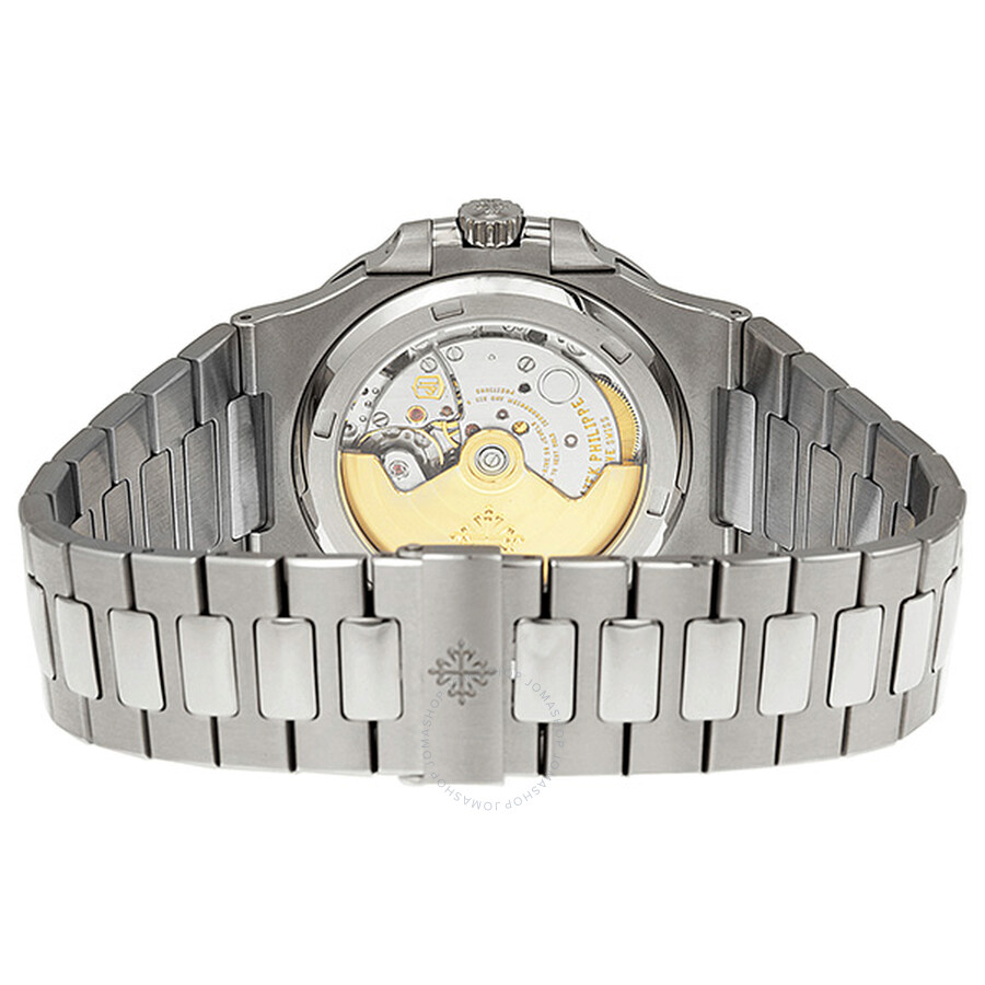 9f789ac2455 ... Patek Philippe Nautilus Silvery White Dial Stainless Steel Men's Watch  5711-1A-011
