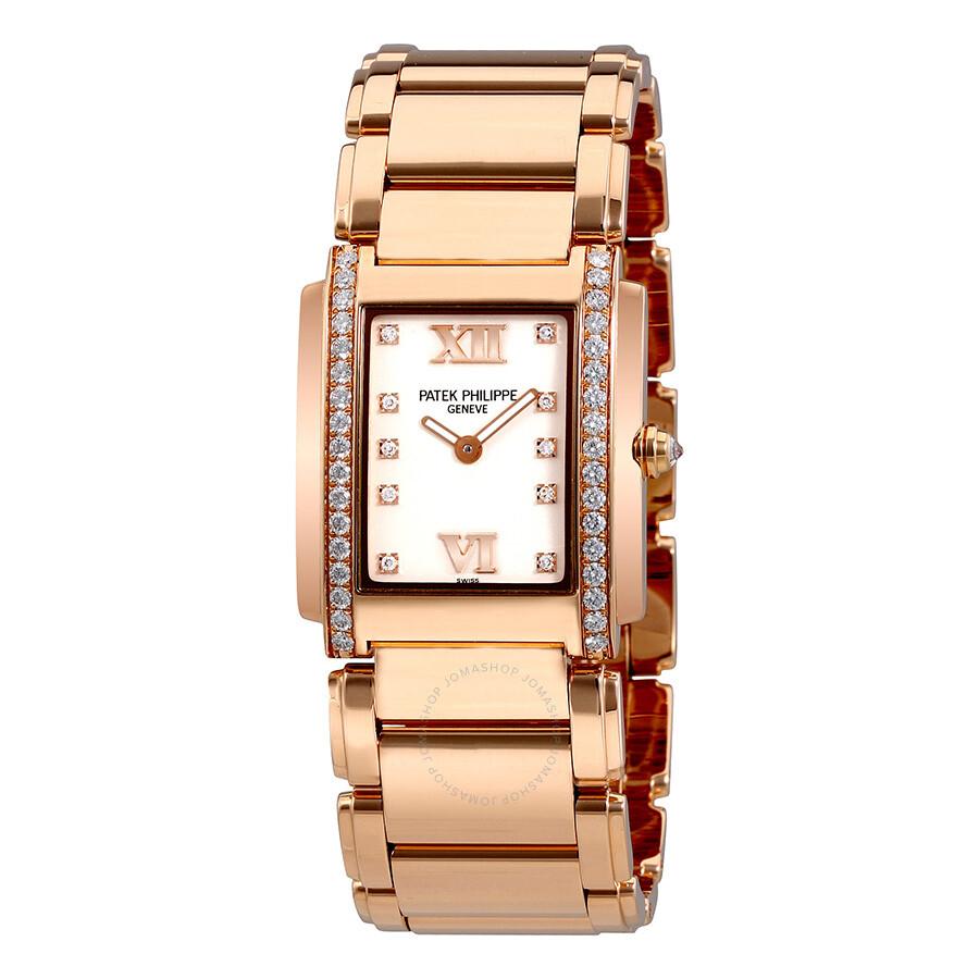 55399ec96d0 Patek Philippe Twenty-4 18kt Rose Gold Ladies Diamond Watch 4910-11R-011 ...