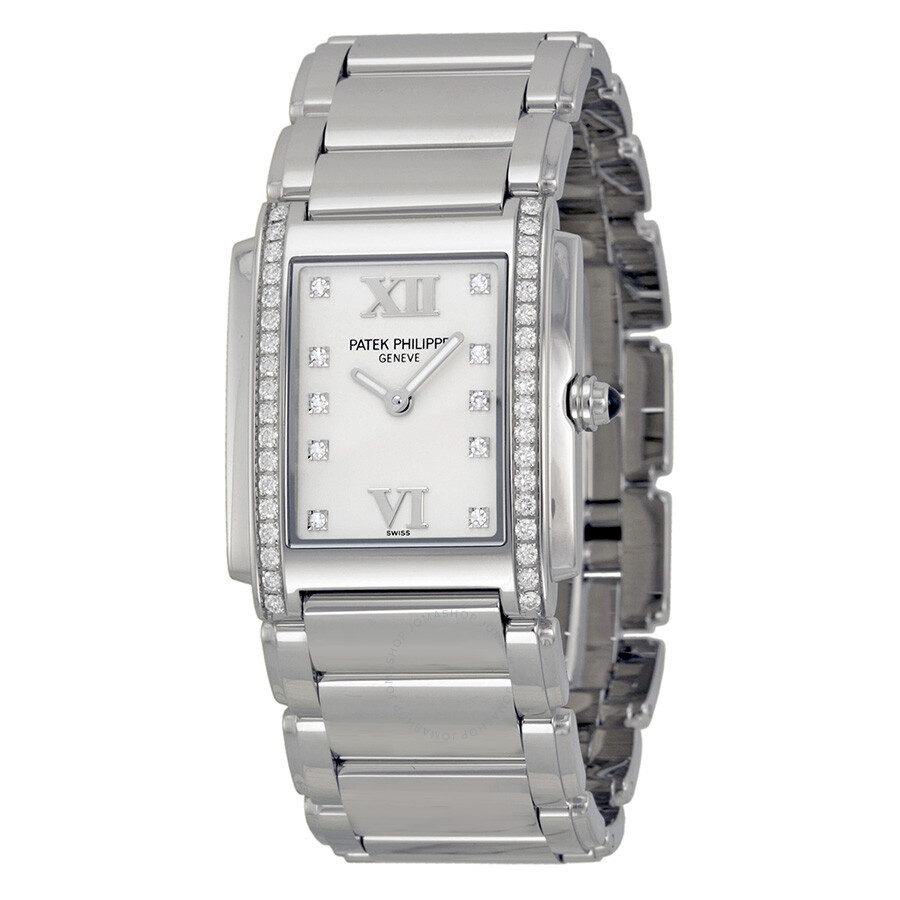 68afeb4b446 Patek Philippe Twenty-4 Diamond Ladies Watch 4910-10A-011 - Twenty 4 ...