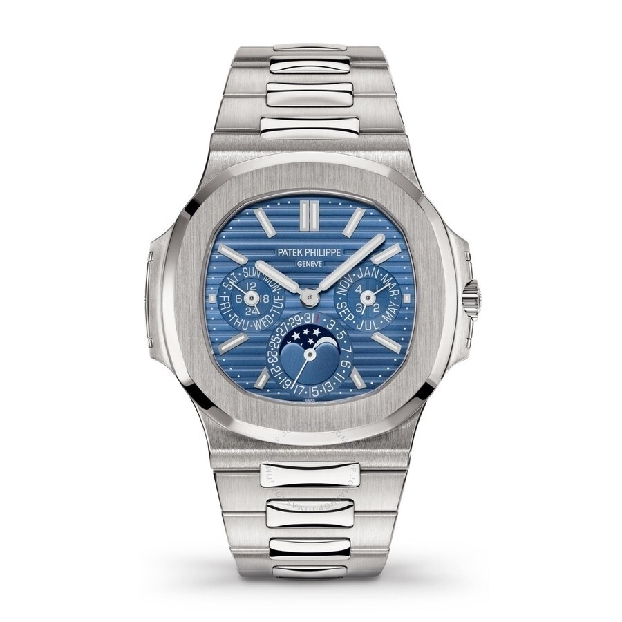 Patek Philippe Nautilus Perpetual Automatic Blue Dial Men S Watch