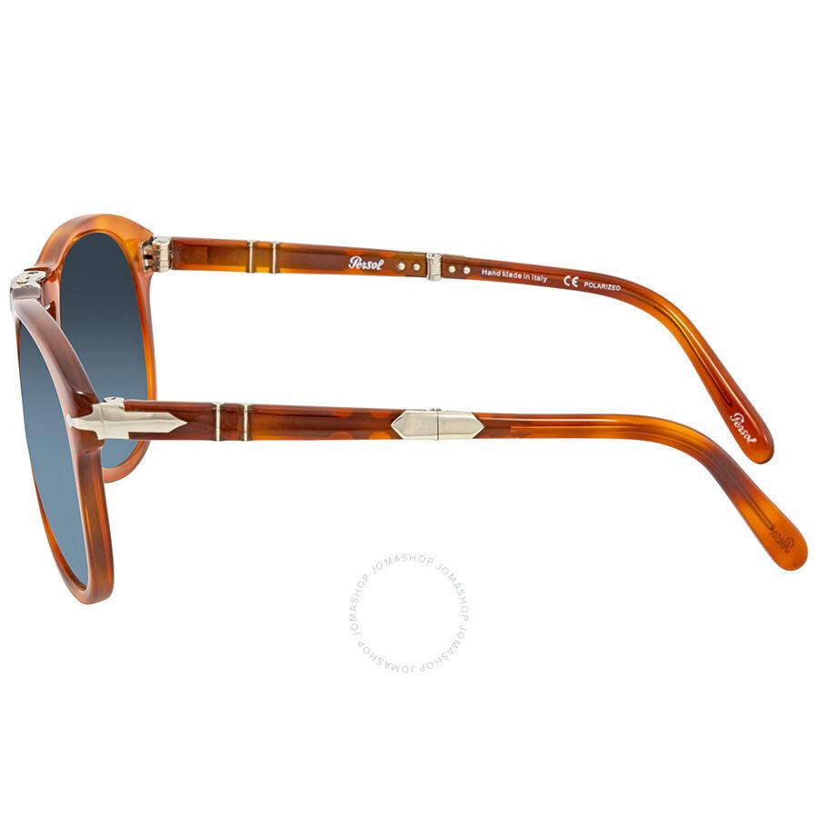 7782b9b3464 ... Persol 714- Steve McQueen Polarized Blue Gradient Sunglasses PO0714SM  96 S3 54 ...