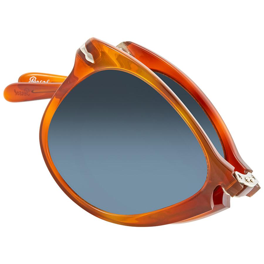 e99d315f59d ... Persol 714- Steve McQueen Polarized Blue Gradient Sunglasses PO0714SM 96  S3 54