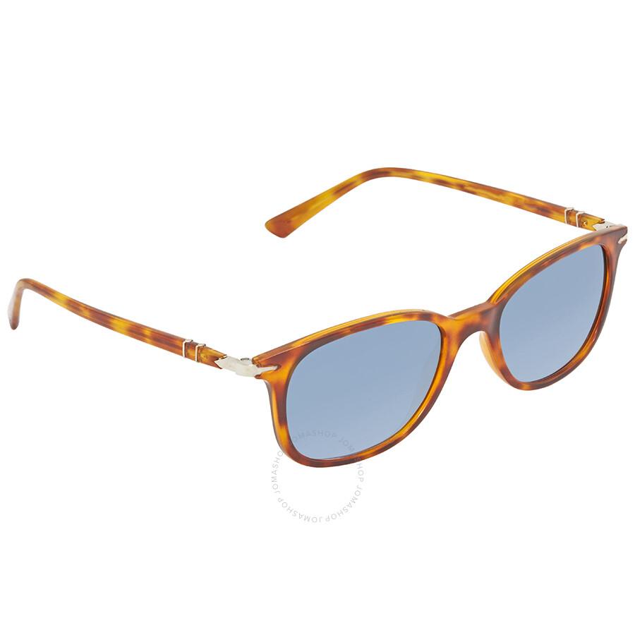 5b5606de1b538 Persol Azure Blue Gradient Square Sunglasses PO3183S 1052 Q8 52 ...