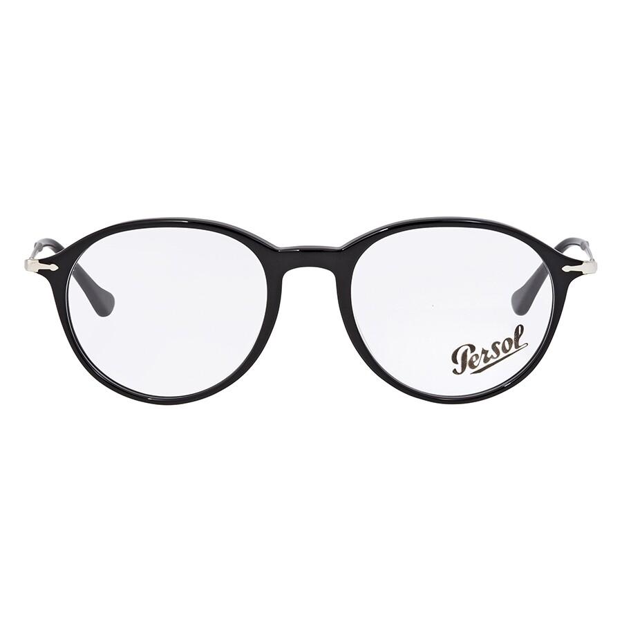 2b5d95abb Persol Black Round Men's Eyeglasses PO3125V-95-51 - Persol ...
