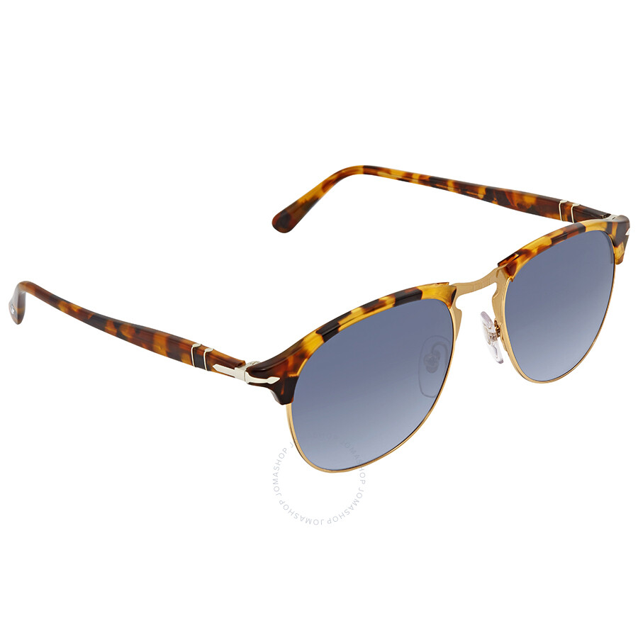ecb8bb21fb24 Persol Blue Gradient Aviator Sunglasses PO8649S 105286 53 Item No. PO8649S 105286  53