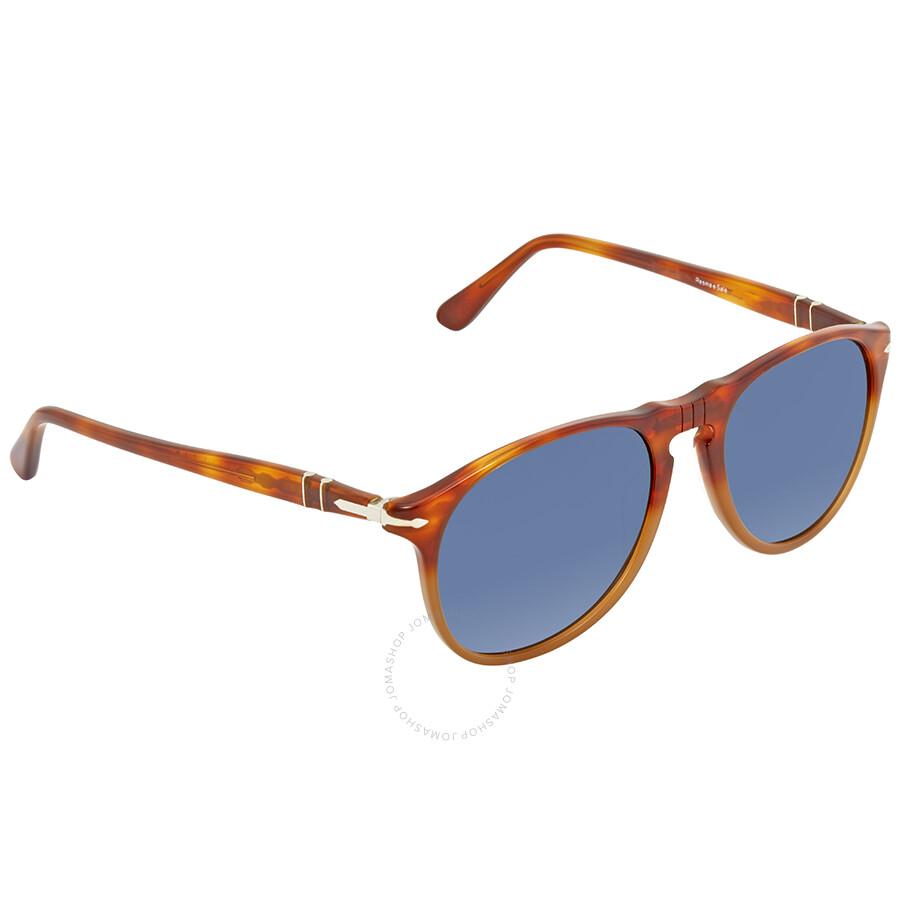 43eadd80db Persol Blue Gradient Round Sunglasses PO9649S 1025S3 52 - Persol ...