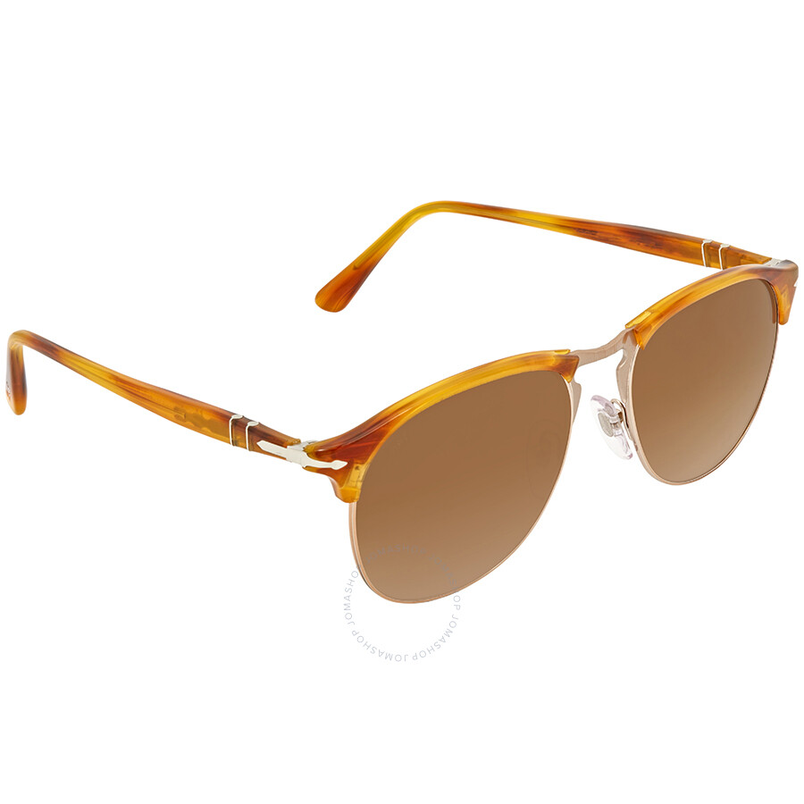 4aa91b2c74 Persol Brown Gradient Aviator Sunglasses PO8649S 960 51 Item No. PO8649S 960  51 56