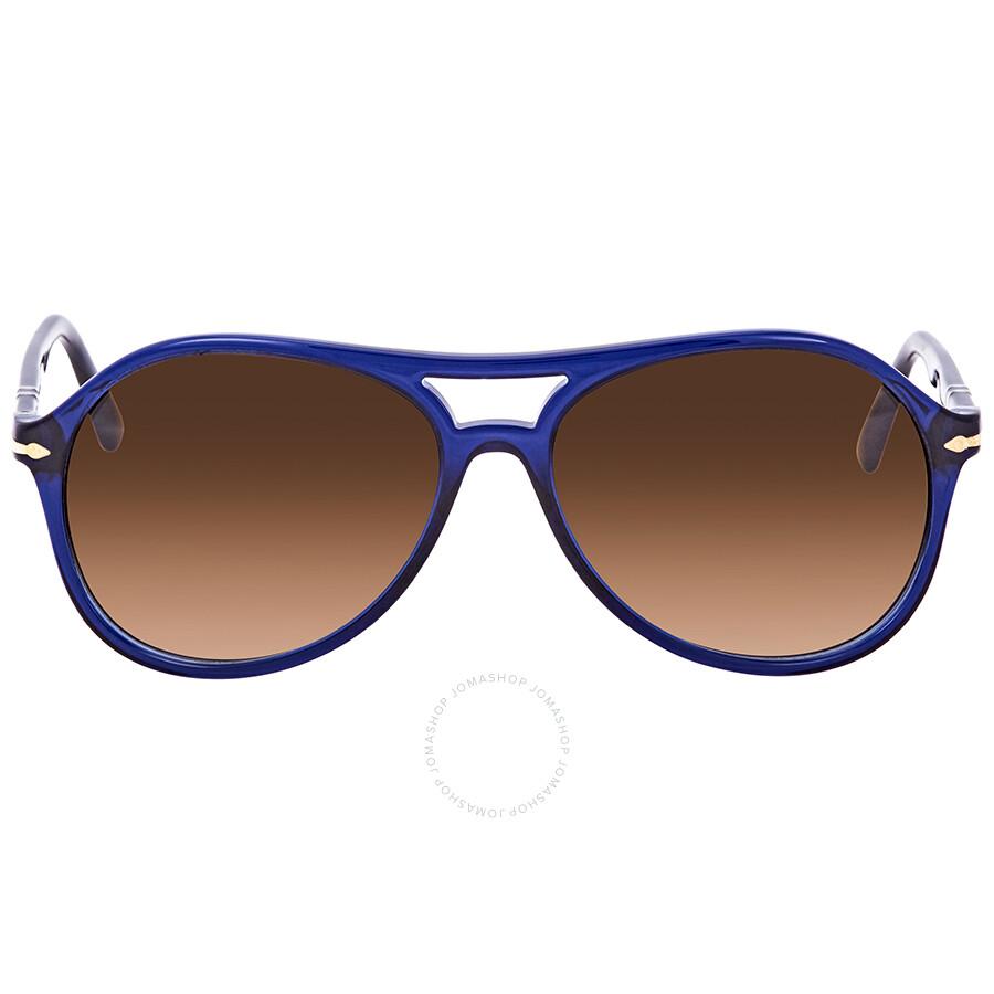 a6518a9e67 ... Persol Brown Gradient Round Men s Sunglasses PO 3194S 107451 59 ...