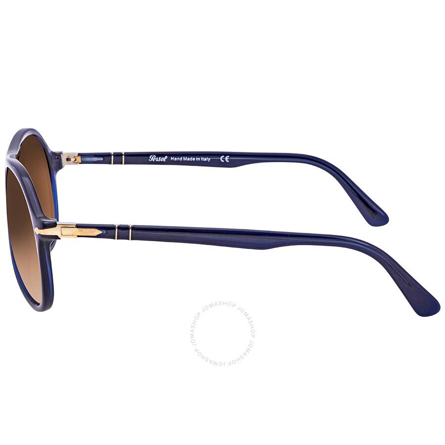 8a9ff1a792 Persol Brown Gradient Round Men s Sunglasses PO 3194S 107451 59 ...