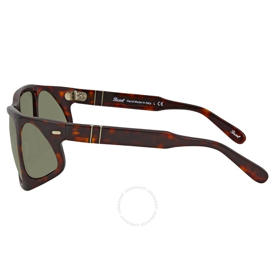 6e0ccb4e6ab49 Persol Crystal Green Sunglasses PO0009 24 31 57 - Persol ...