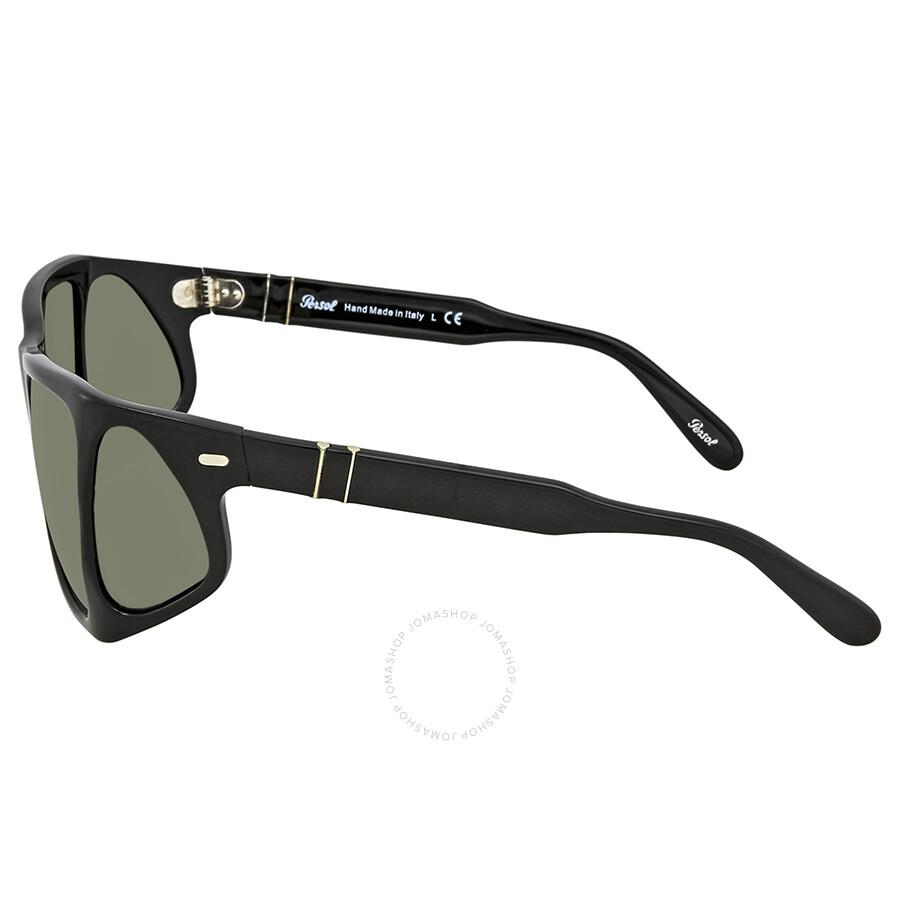 38c6325e048 Persol Crystal Green Sunglasses PO0009 95 31 57 - Sunglasses - Jomashop