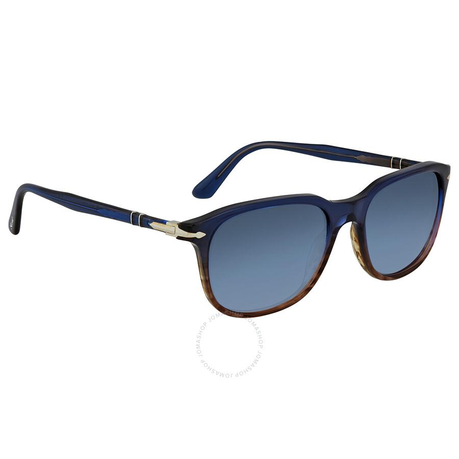9d8e66d1ac Persol Gradient Blue Square Sunglasses PO3191S 1010Q8 55 - Persol ...