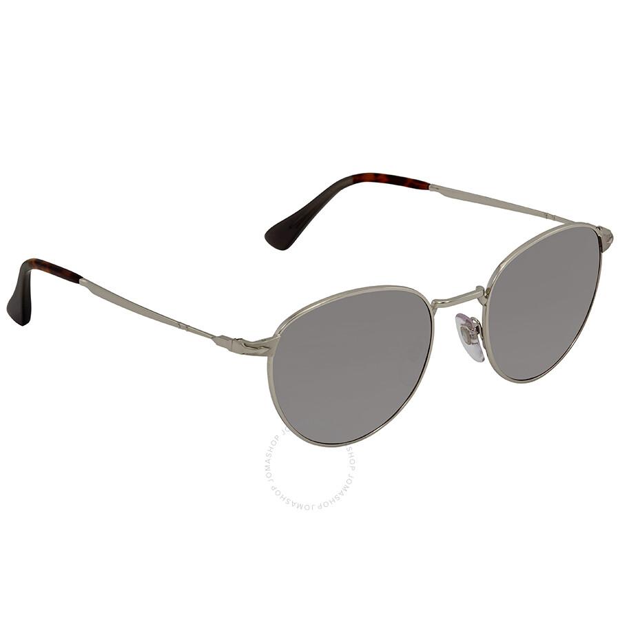 2e2219386e Persol Gradient Green Polar Round Sunglasses PO2445S 518 M3 52 ...