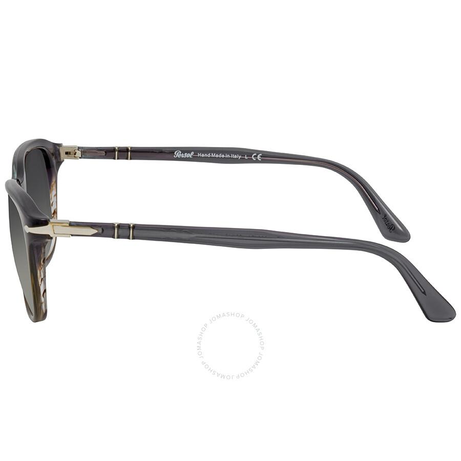 5fe5de0cb76eb Persol Gradient Grey Square Sunglasses PO3191S 101271 55 - Persol ...