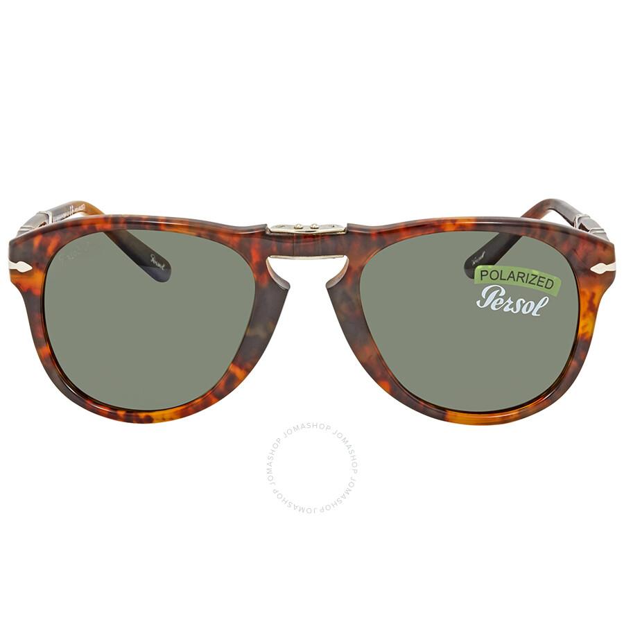 2ab0d7b9d0 Persol Green Aviator Sunglasses PO0714 108 58 52 - Persol ...