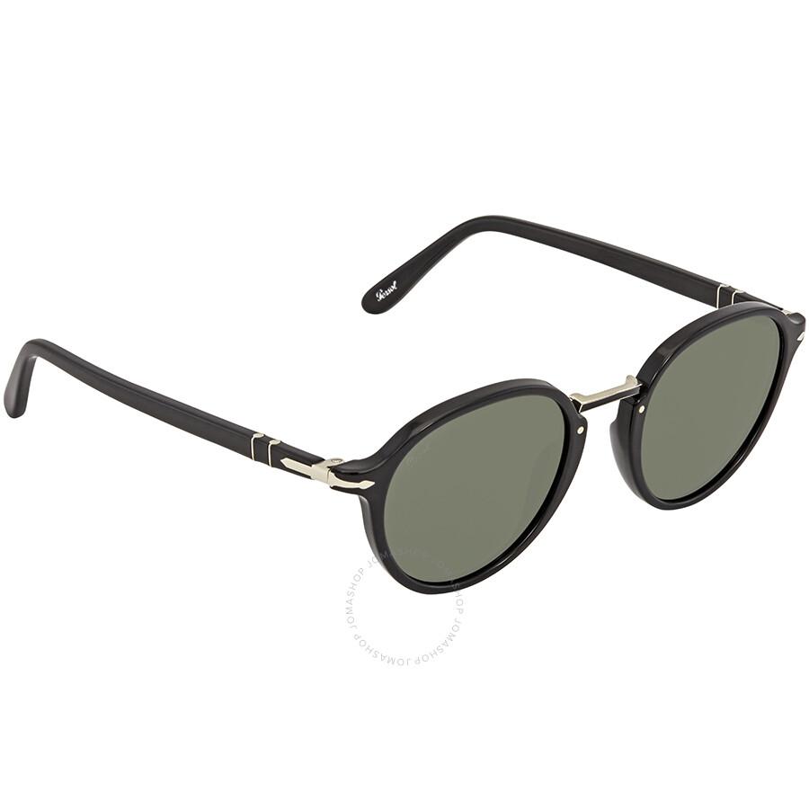 b70cbf55f2 Persol Green Round 49 mm Sunglasses PO3184S 95/31 49