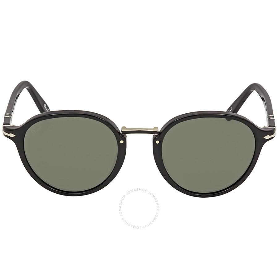 500354996b Persol Green Round 49 mm Sunglasses PO3184S 95 31 49 - Persol ...