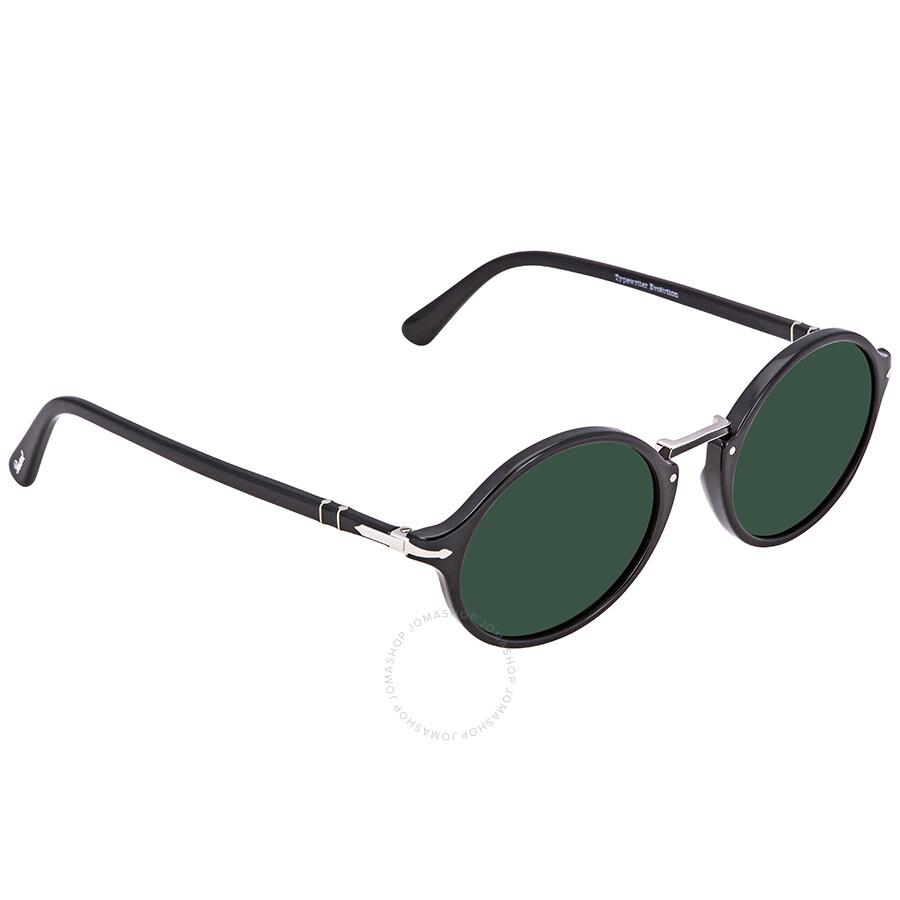 324ae20fbb Persol Green Round Men s Sunglasses PO 3208S 9531 50 - Persol ...