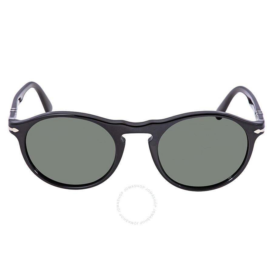 a25f432cb2 Persol Green Round Sunglasses PO3204S 95 31 51 - Persol - Sunglasses ...