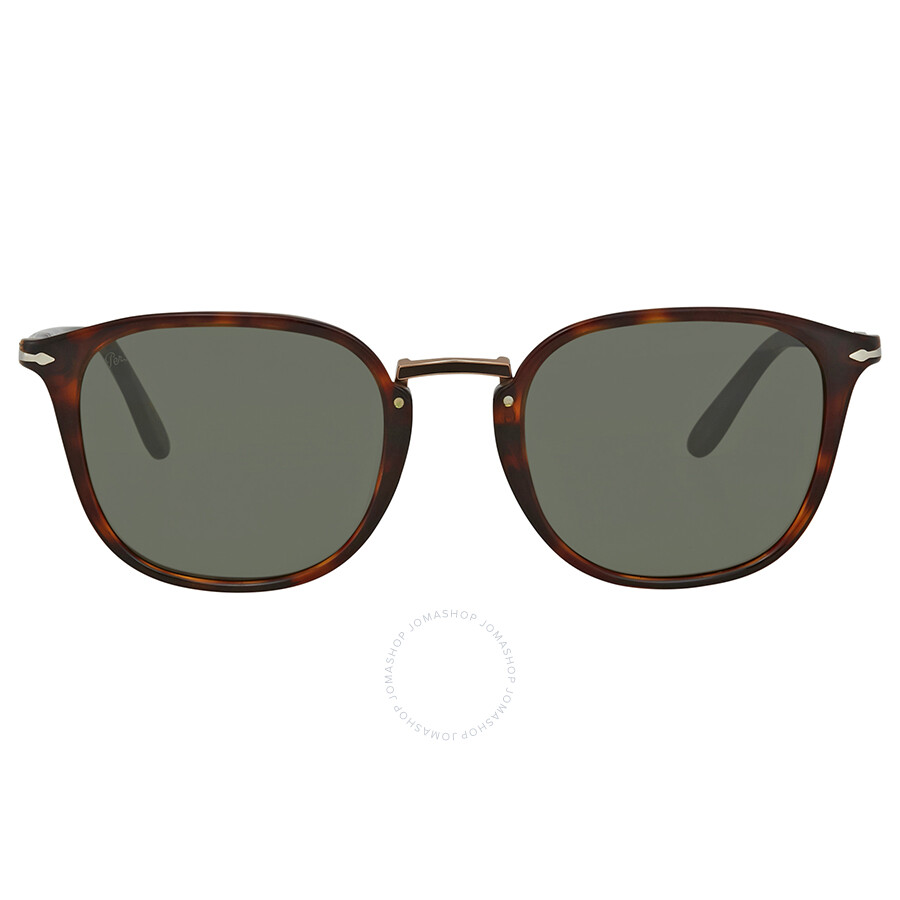 e6f2d5fef1 Persol Green Square 51 mm Sunglasses PO3186S 24 31 51 - Persol ...