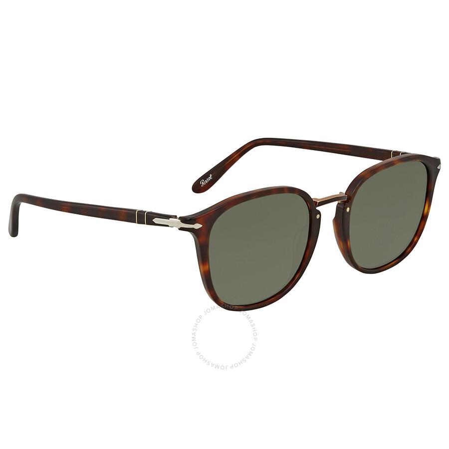 5a9fc922a8 Persol Green Square 53 mm Sunglasses PO3186S 24 31 53 - Persol ...