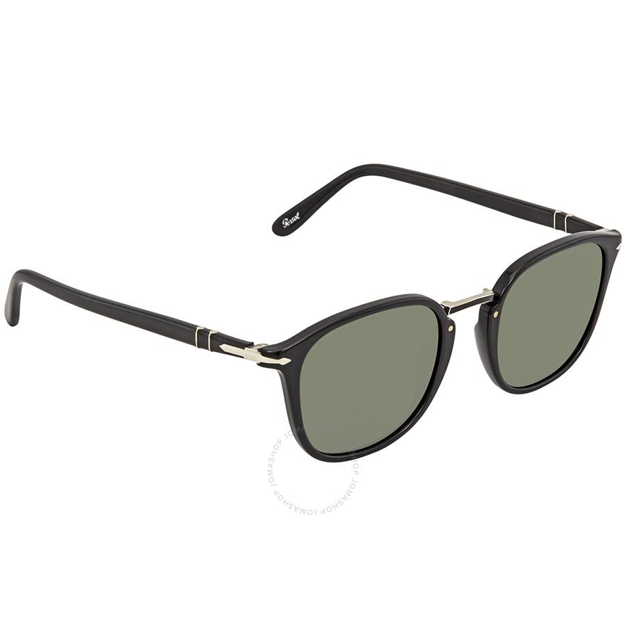 31f6f9feb3 Persol Green Square Sunglasses PO3186S 95 31 51 - Persol ...