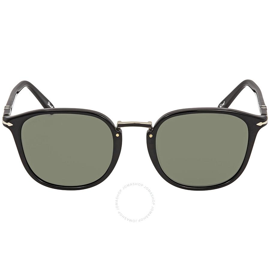 2a1b10297b7b1 Persol Green Square Sunglasses PO3186S 95 31 51 - Persol ...