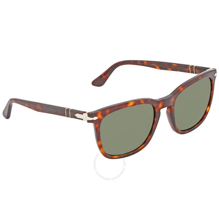 c8bdad46b364 Persol Green Square Sunglasses PO3193S 24/31 55 Item No. PO3193S 24/31 55