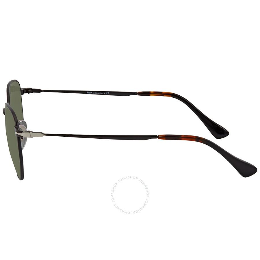 ed1bac52a4772 Persol Green Sunglasses PO2446S 107831 52 - Persol - Sunglasses ...
