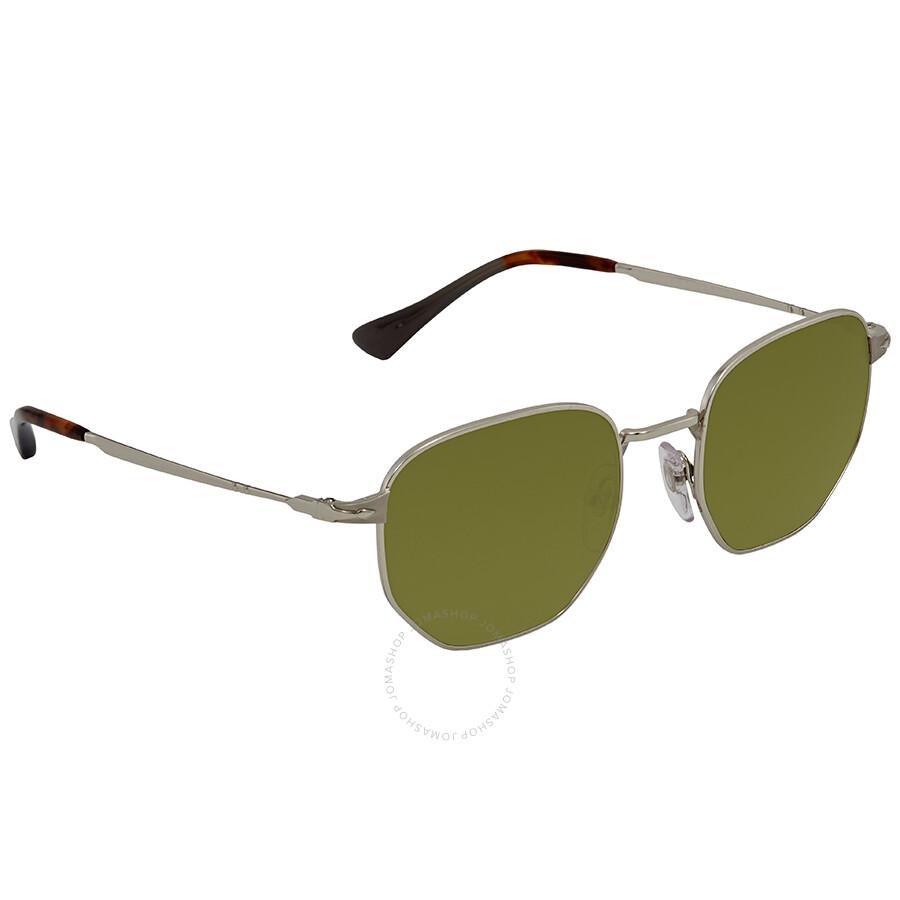 eb031a6242 Persol Green Sunglasses PO2446S 518 4E 52 - Persol - Sunglasses ...