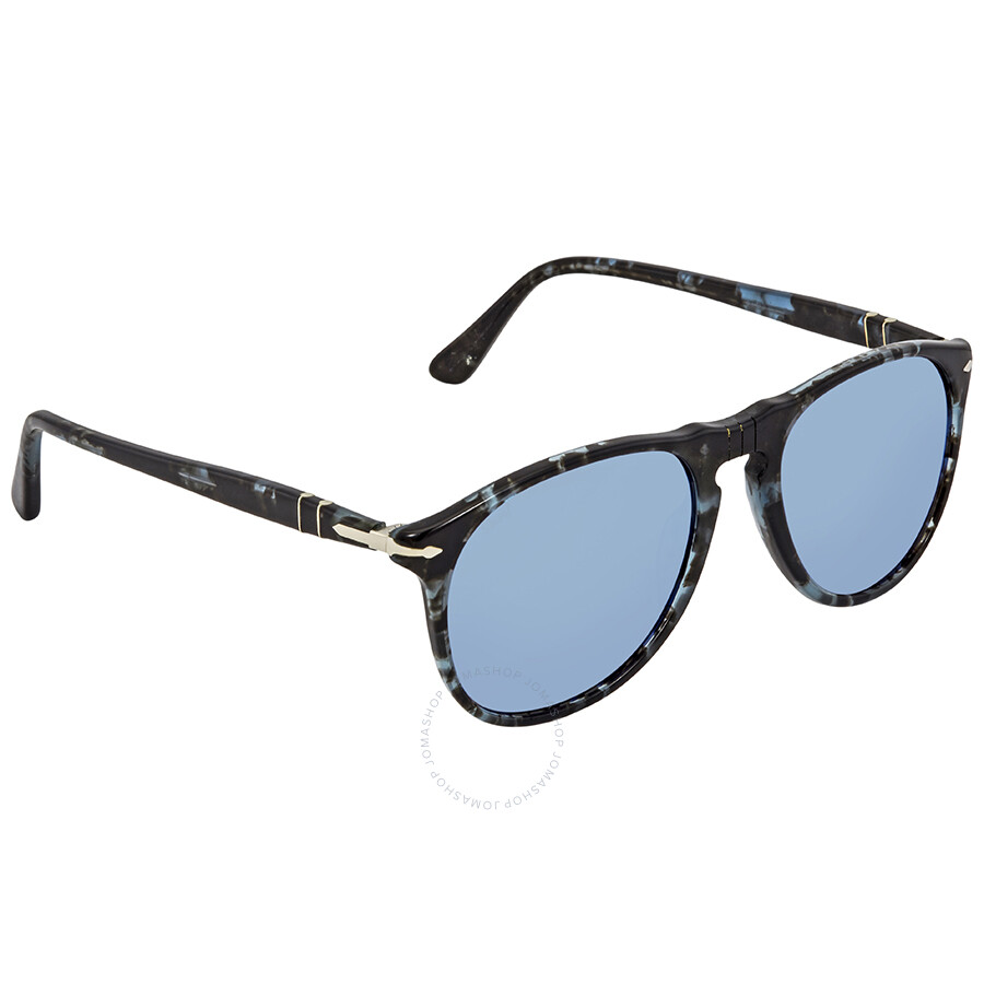 0f13cd3eeae3d Persol Grey Mirror Blue Aviator Sunglasses PO9649S 1062O4 52 ...