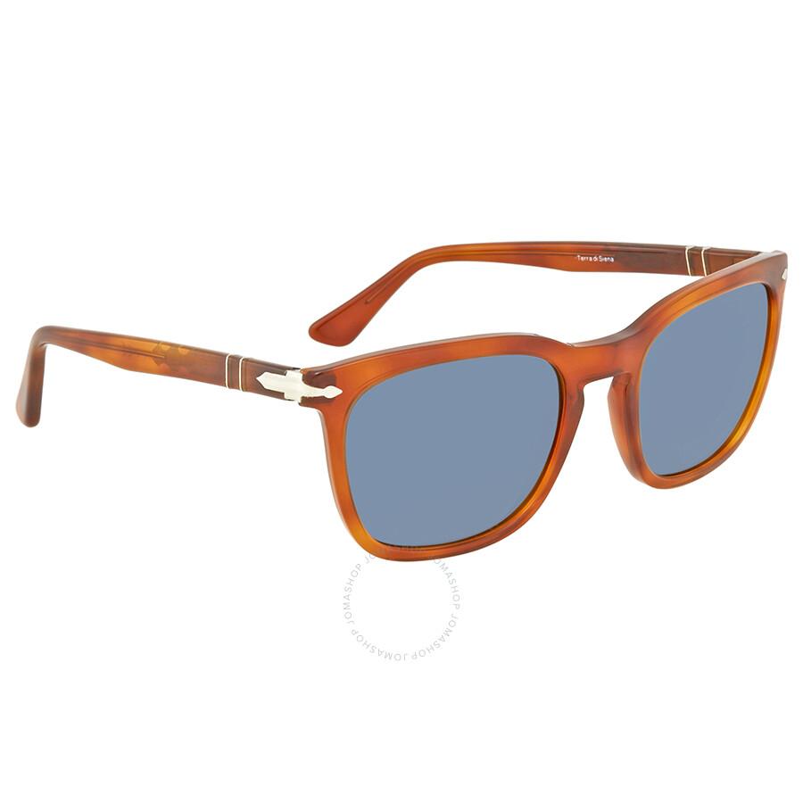 6e15b55219 Persol Light Blue Square Sunglasses PO3193S 96 56 55 - Persol ...
