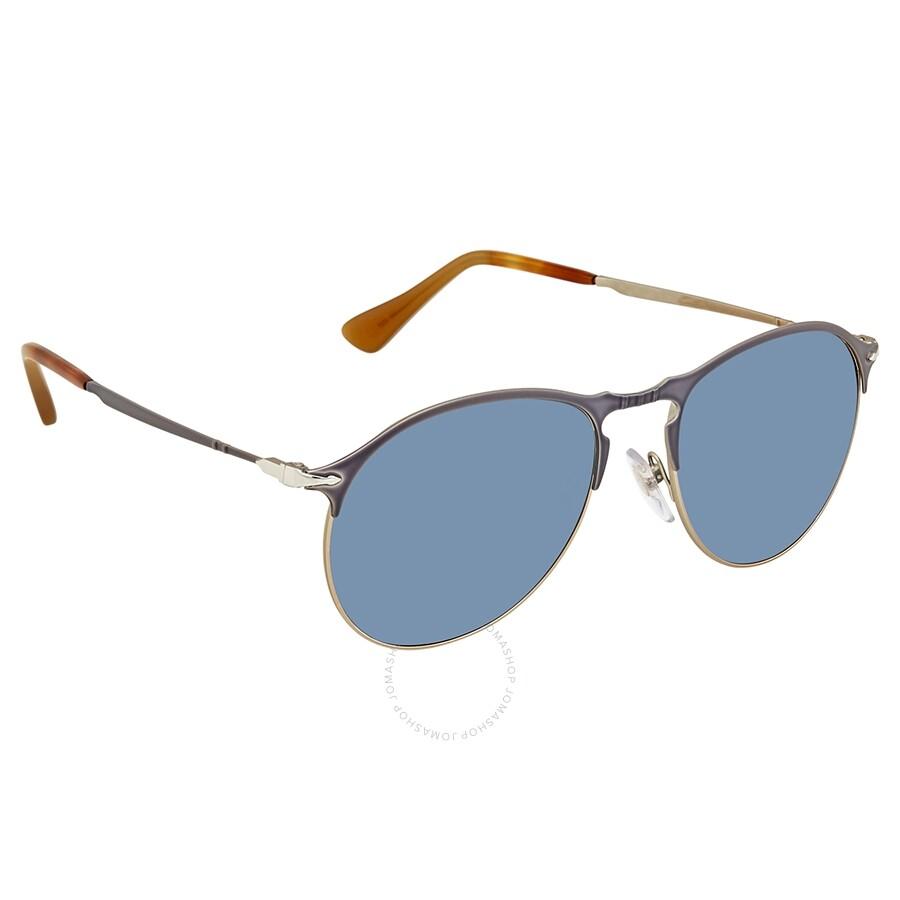 0a80449d6f89d Persol Light Blue Sunglasses PO7649S 107156 53 - Persol - Sunglasses ...