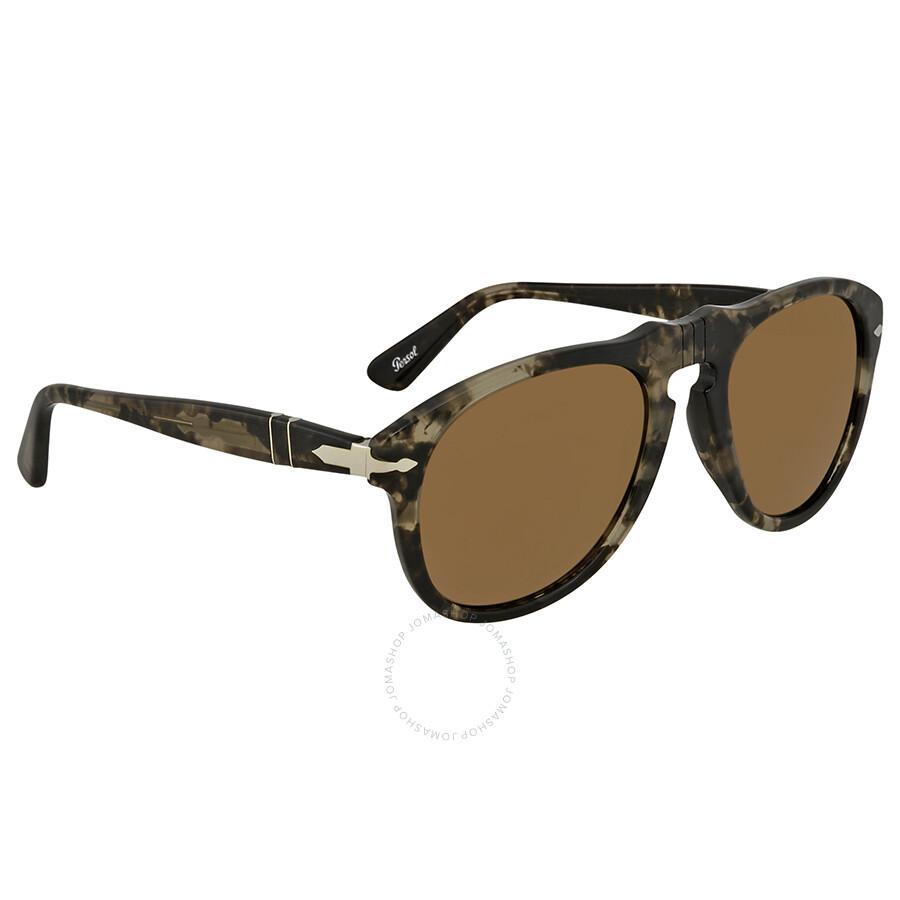 b0b51515eb59e Persol Aviator Sunglasses PO0649 1063O3 52 - Persol - Sunglasses ...