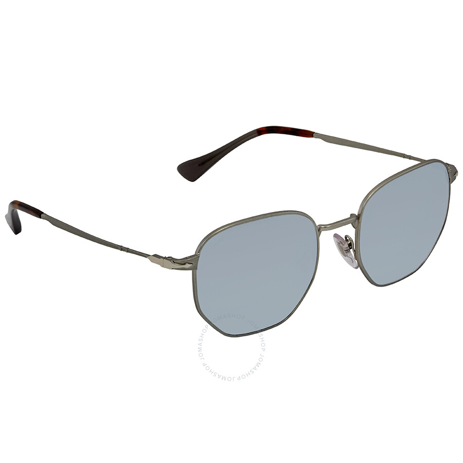 44ccf16d54 Persol Light Green Mirror Silver Sunglasses PO2446S 105830 52 ...
