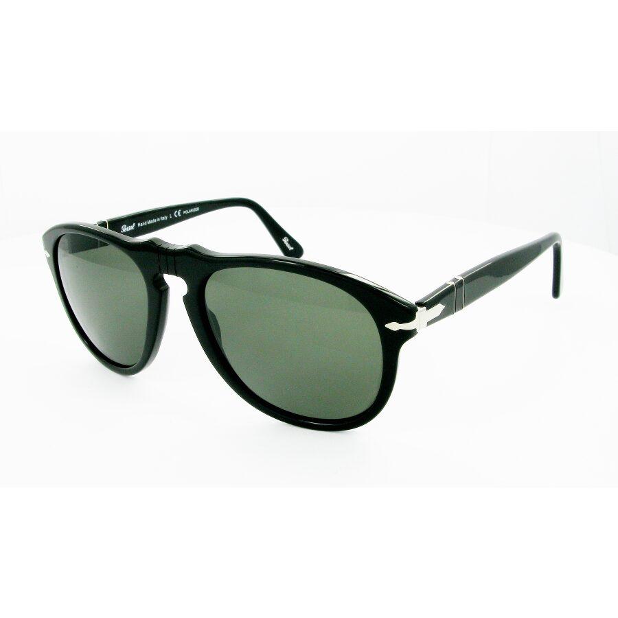 3638fd51faccf Persol PO0649 Green Polar Square Sunglasses Item No. PSO0649-95-58-54