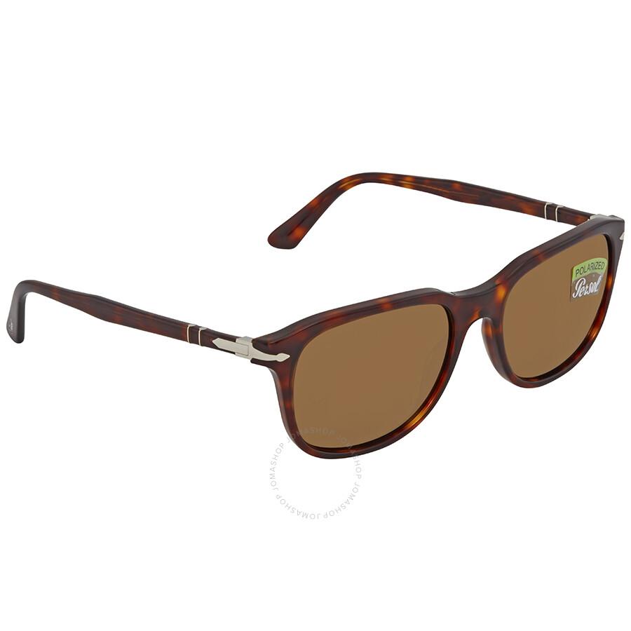 992cb99a7f Persol Polarized Brown Square Sunglasses PO3191S 24 57 55 - Persol ...