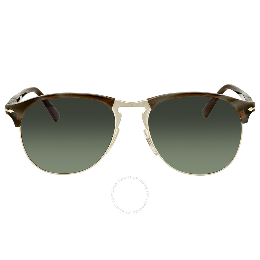 538bb0926c ... Persol Polarized Green Gradient Aviator Men s Sunglasses PO8649S 1045M3  56 ...