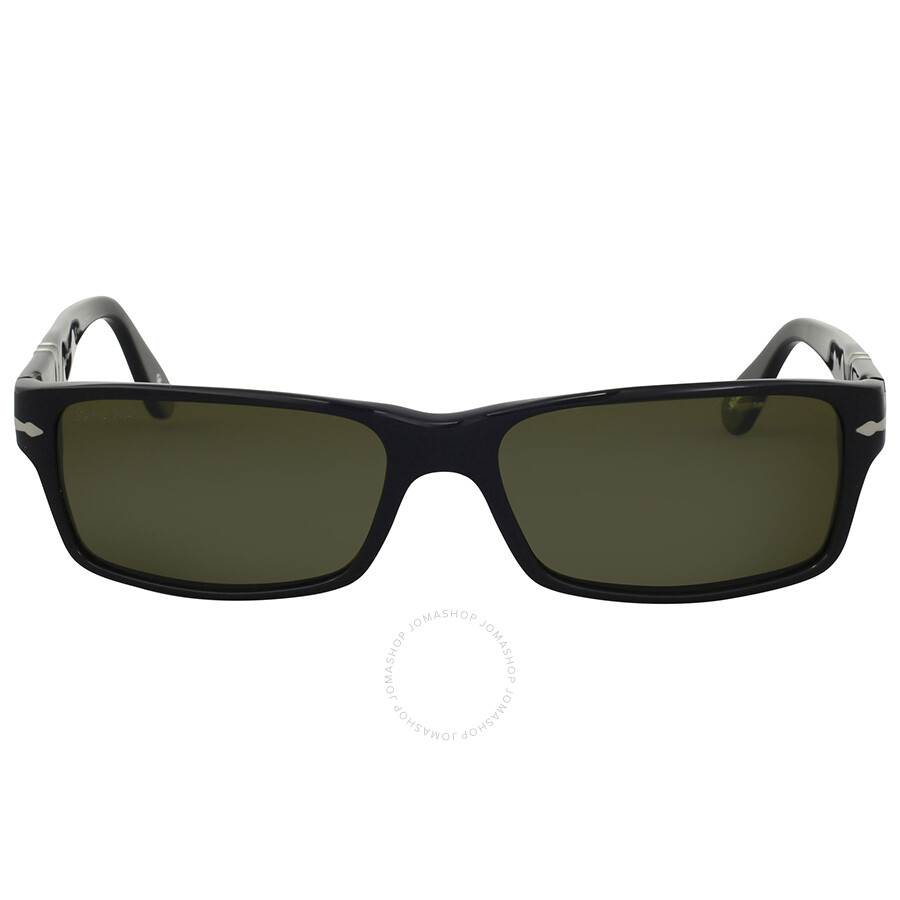 85e294da6e0 Persol Polarized Green Rectangular Sunglasses - Persol - Sunglasses ...