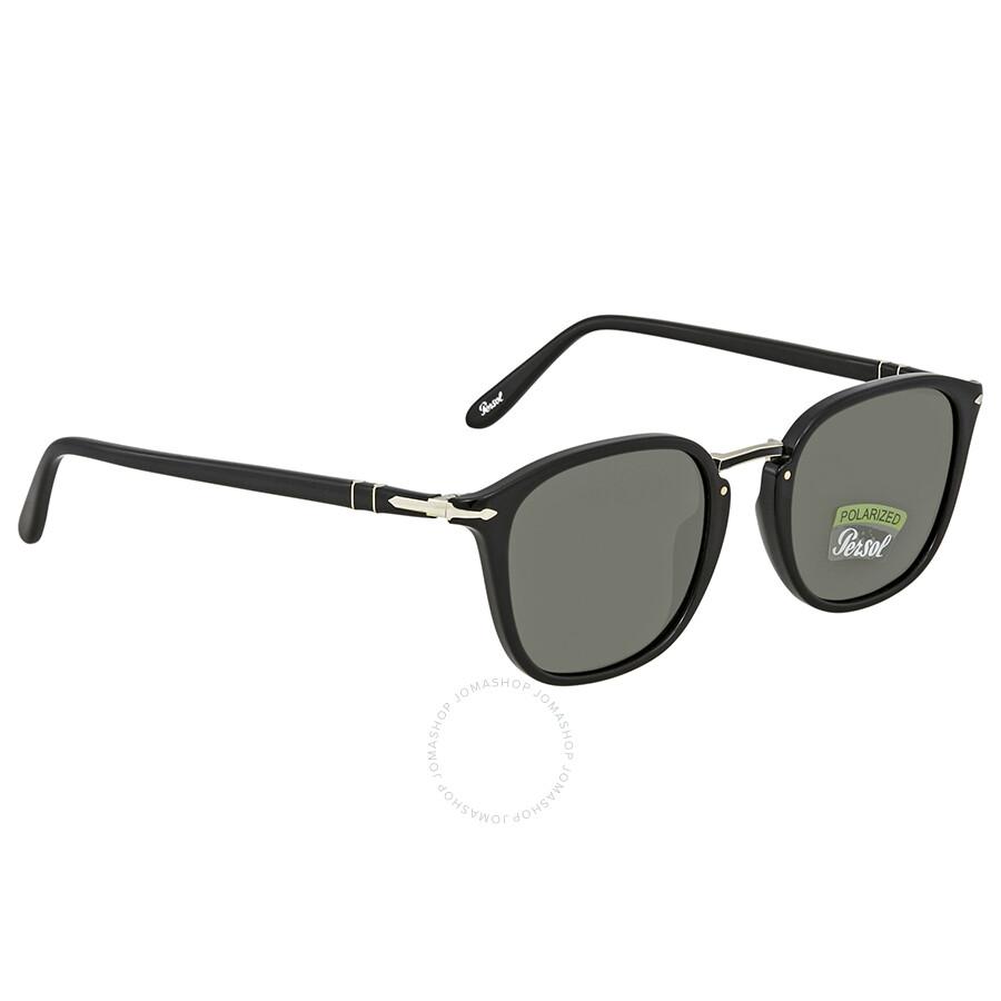 a5e0f0b482 Persol Polarized Green Square Sunglasses PO3186S 95 58 51 - Persol ...