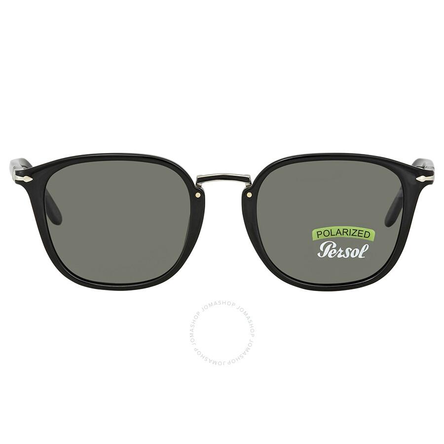 546a6c5451c Persol Polarized Green Square Sunglasses PO3186S 95 58 51 - Persol ...
