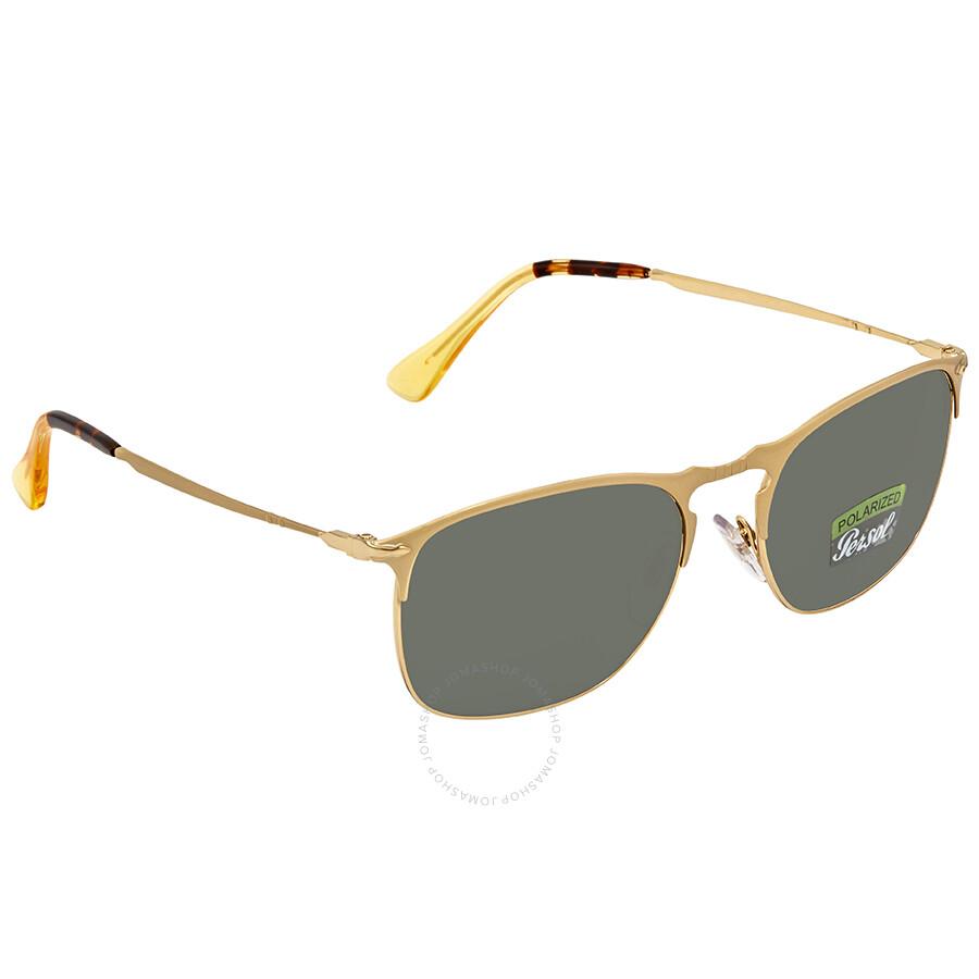 b64594d156 Persol Polarized Green Square Sunglasses PO7359S 106958 55 - Persol ...